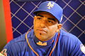 Yoenis Cespedes talks to reporters on -WSMediaDay (22900477865).jpg