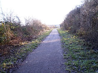 Hull and Barnsley and Great Central Joint Railway - Path along the former line to Doncaster (York Road)