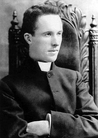 Michael O'Flanagan - Young Fr. Michael O'Flanagan, photo possibly taken at his ordination in 1900.