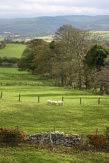 Ystrad Meurig a village located in Ceredigion, United Kingdom