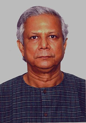 Muhammad Yunus, Winner of 2006 Nobel Peace Prize