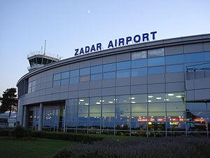 Zadar Airport - Image: Zadar airport terminal croatia