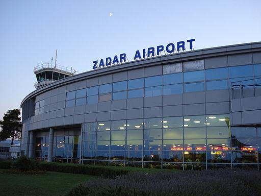 Zadar airport terminal croatia