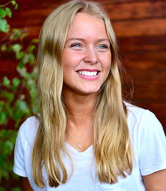 Zara Larsson - Larsson at Allsång på Skansen in June 2013
