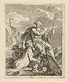 Zeelandschap met Thetis en Neptunus Scènes uit het leven van Achilles (serietitel) Vitam et mortem achilli (serietitel), RP-P-1878-A-1118.jpg
