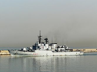 Maestrale-class frigate - Zeffiro, Beirut 2010