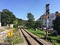 Zentralblocksignal 313 in km 28,73 am Ende des Bahnsteigs des Haltepunkts Bad Aibling Kurpark..jpg