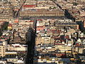 Zocalo and surroundings as seen from Torre Latinoamericana, Mexico City.jpg