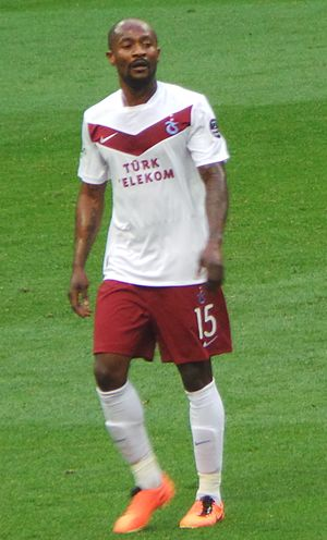 Didier Zokora - Zokora playing for Trabzonspor in 2012