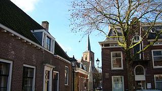 Zwammerdam Town in South Holland, Netherlands