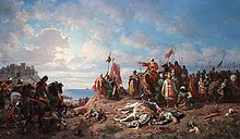 """The death of king Wladyslaw II at Varna"".jpg"