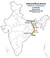 (Puri - Jaynagar) Express Route map.jpg