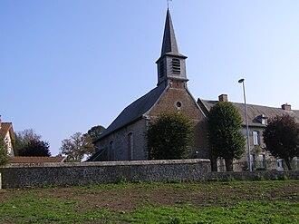 Aulnoye-Aymeries - The church in Aymeries