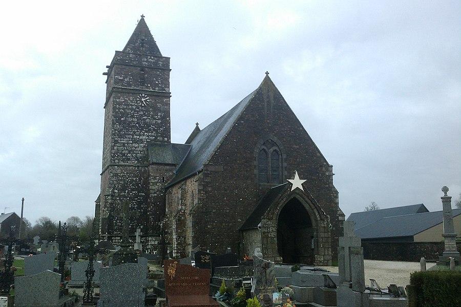 Église Notre-Dame de fr:La Colombe (Manche)