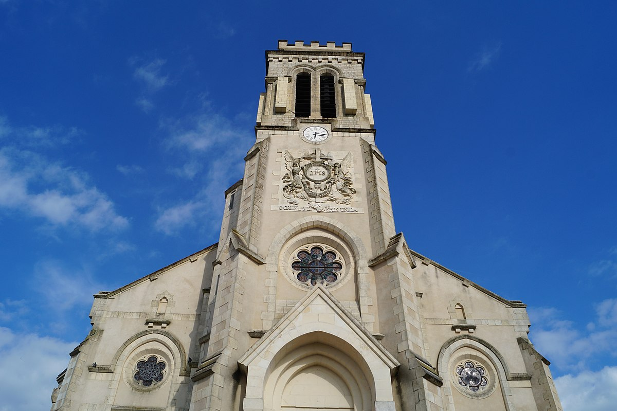 Saint christophe du ligneron wikidata for Saint 3 mai