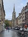 Église Saint-Maurice de Lille et rue Mauroy (octobre 2020).jpg
