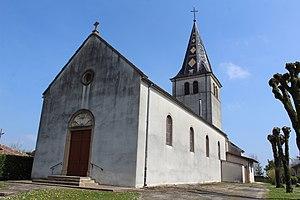 Béréziat - Image: Église St Georges Béréziat 12