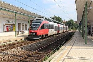 Vienna S-Bahn - A class 4024 EMU at Wien Gersthof