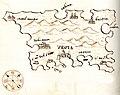Χάρτης της νήσου Κρκ (Κροατία) - Millo Antonio - 1582-1591.jpg