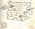 Χάρτης της νήσου Ραμπ (Κροατία) - Millo Antonio - 1582-1591.jpg