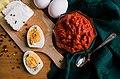 Ајвар со сирење и варени јајца.jpg