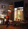 А. А. Бобров. Мальчик с кошкой.jpg