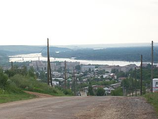 Vyatskiye Polyany Town in Kirov Oblast, Russia