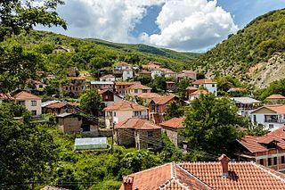 Smilevo Village in Pelagonia, North Macedonia