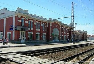 Synelnykove - Synelnykove 1st railway station