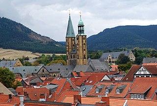 Goslar Place in Lower Saxony, Germany