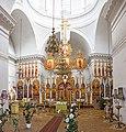 Грецька Всіхсвятська церква Внутрішнє убранство храму Панорама.jpg