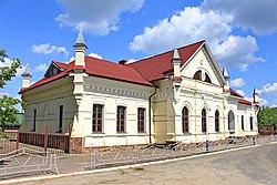 Залізничний вокзал Малин Житомирщина.jpg