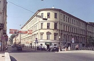 ITMO University - The first main building LIFMO, Demidov Pereulok (Pereulok Grivtzova), 10. 2006