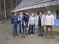 Мельников та Чорногуз - зліва, Гурбик та Проданчук - з правого боку. Пирогово, 2010.JPG