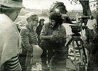 На съёмочной площадке Крестьянского сына.jpg