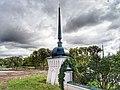 Ограда с башнями, набережная Тьмака, 1.jpg