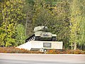 Пам'ятник (Танк-Т-34) героям-танкістам, які визволили м.Яготин.JPG
