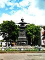 Пам'ятник на місці відпочинку Петра I після Полтавської битви,Полтава, на перехресті вул. П.Комуни і Спаської ALX 7366 03.jpg