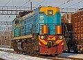 ТЭМ18ДМ-442, Россия, Мордовия, станция Новые Полянки (Trainpix 154717).jpg