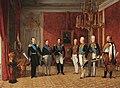 """Reception of Grand Duke Alexander Nikolayevich by Prince Metternich in the Vienna Hofburg in 1829"".jpg"