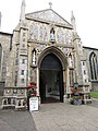 -2019-07-15 Porch, Parish church of Saint Nicholas, North Walsham.JPG