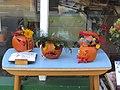 -2019-10-29 Jack-o'-lanterns for sale, Mundesley.JPG