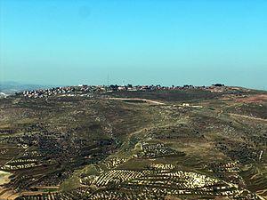Yitzhar - Image: 0יצהר1