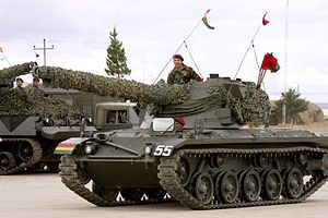 SK-105 Kürassier - SK-105 of the Bolivian Army