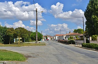 Ballon, Charente-Maritime Commune in Nouvelle-Aquitaine, France
