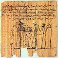 0190 Totenpapyrus des Pamonth mit mythologischer Darstellung anagoria.JPG