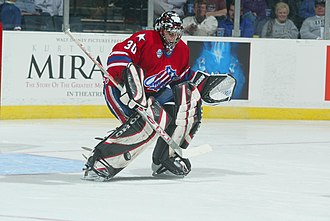 Ryan Miller - Miller with the Rochester Americans in 2004