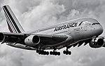 02142019 Air France A380 F-HPJG KMIA NASEDITB&W (40237117493).jpg