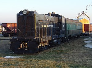 Baldwin S-12 - A preserved S-12 at the Railroad Museum of Pennsylvania.