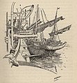 03 pen and ink drawing by Thomas Tendron Jeans for his book Ford of HMS Vigilant.jpg